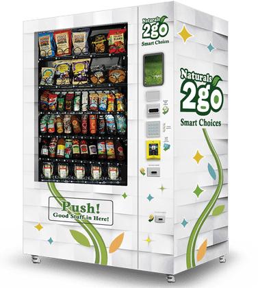 Naturals2Go MVP Vending
